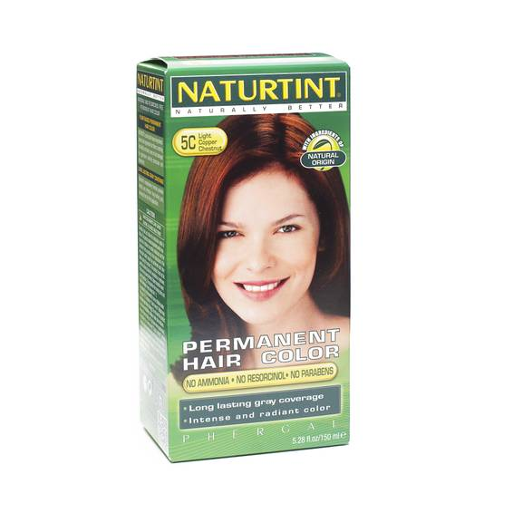 Permanent Hair Color - Light Copper Chestnut 5C
