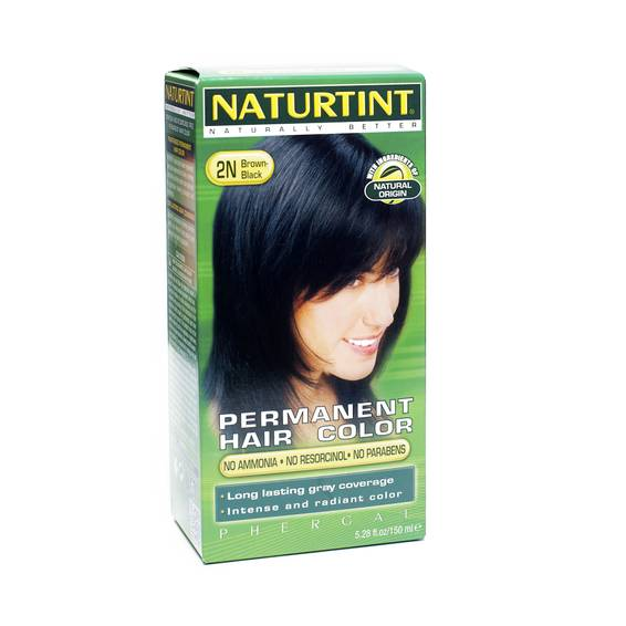 Permanent Hair Color - Brown/Black 2N