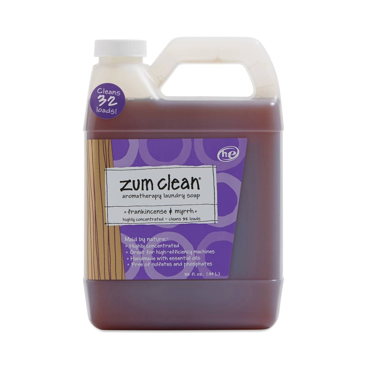 Zum Clean Laundry Soap Frankincense Amp Myrrh Thrive Market