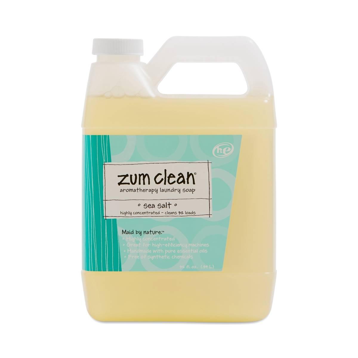 Indigo Wild Zum Clean Laundry Soap Sea Salt Thrive Market