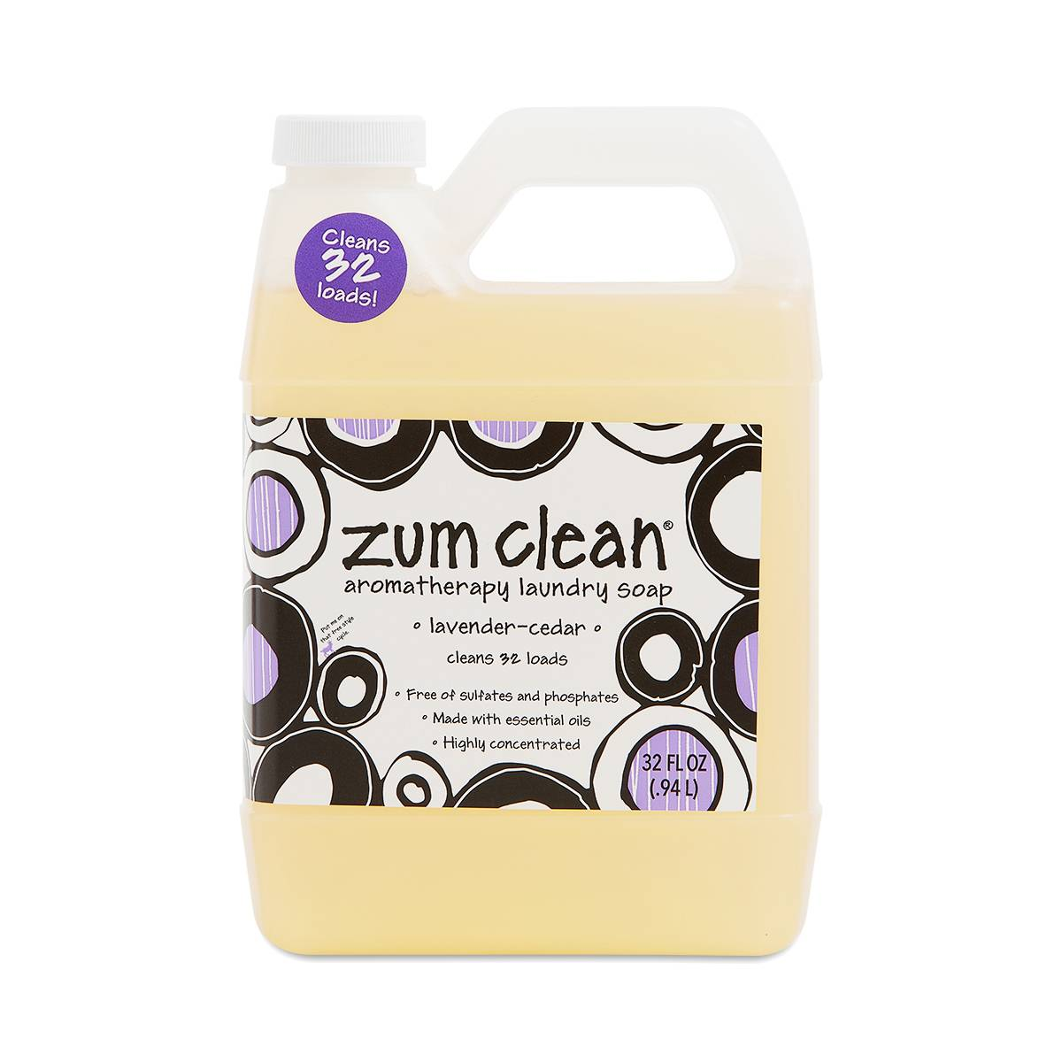 Indigo Wild Zum Clean Laundry Soap Lavender Cedar
