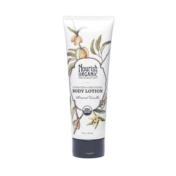Hydrating & Smoothing Organic Body Lotion - Almond Vanilla