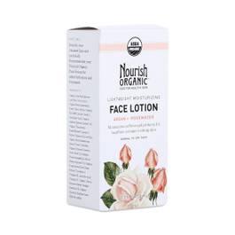 Lightweight Moisturizing Organic Face Lotion