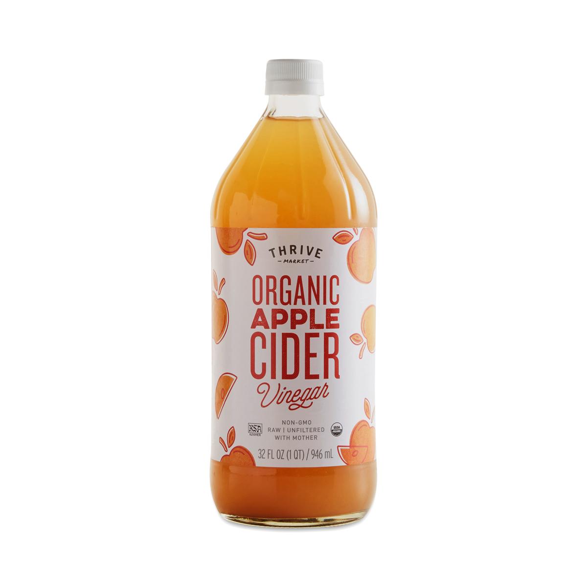 organic apple cider vinegar thrive market. Black Bedroom Furniture Sets. Home Design Ideas