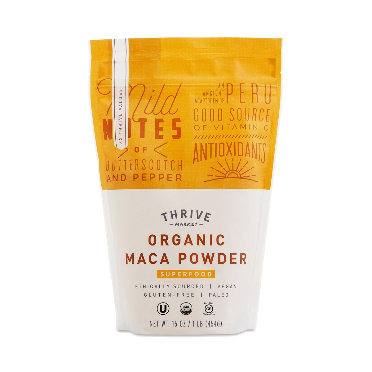 Thrive Market Organic Maca Powder 16 oz bag