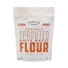 Organic Sprouted White Wheat Flour