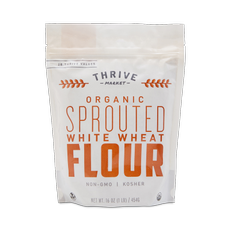 Organic Sprouted White Wheat Flour