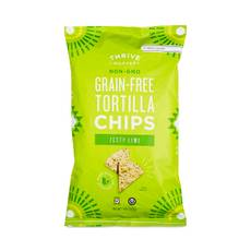 Non-GMO Grain-Free Tortilla Chips, Lime