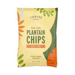 Non-GMO Plantain Chips, Chili Lime