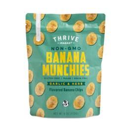 Garlic & Herb Banana Munchies