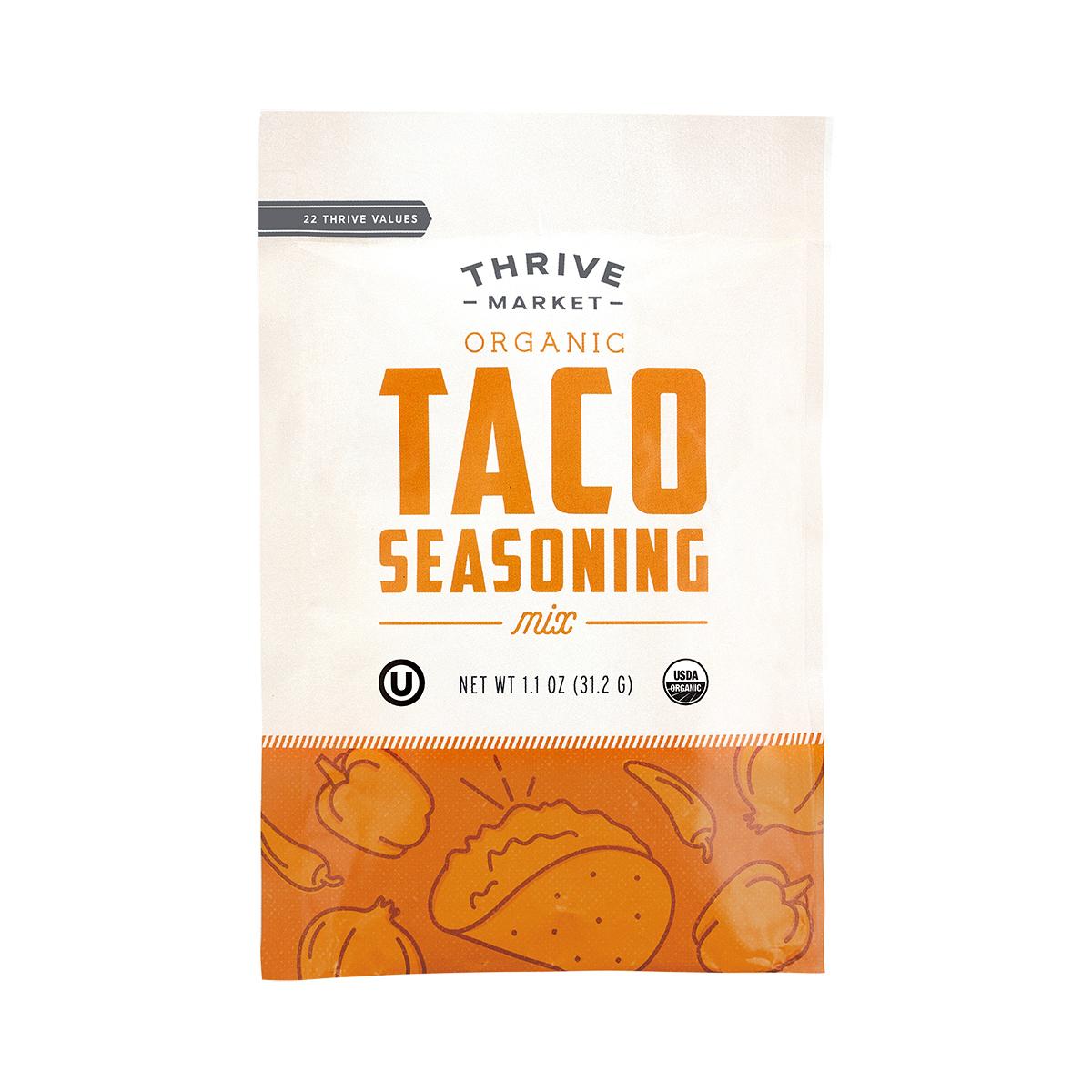 Thrive Market Organic Taco Seasoning 1.1 oz pouch