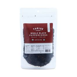 Organic Black Whole Peppercorns Bag