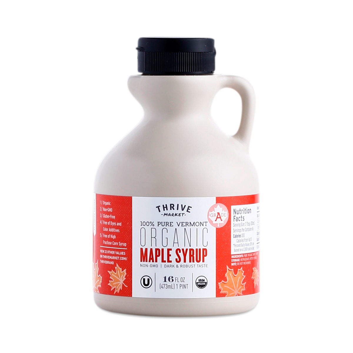 Organic Maple Syrup 16 oz jug