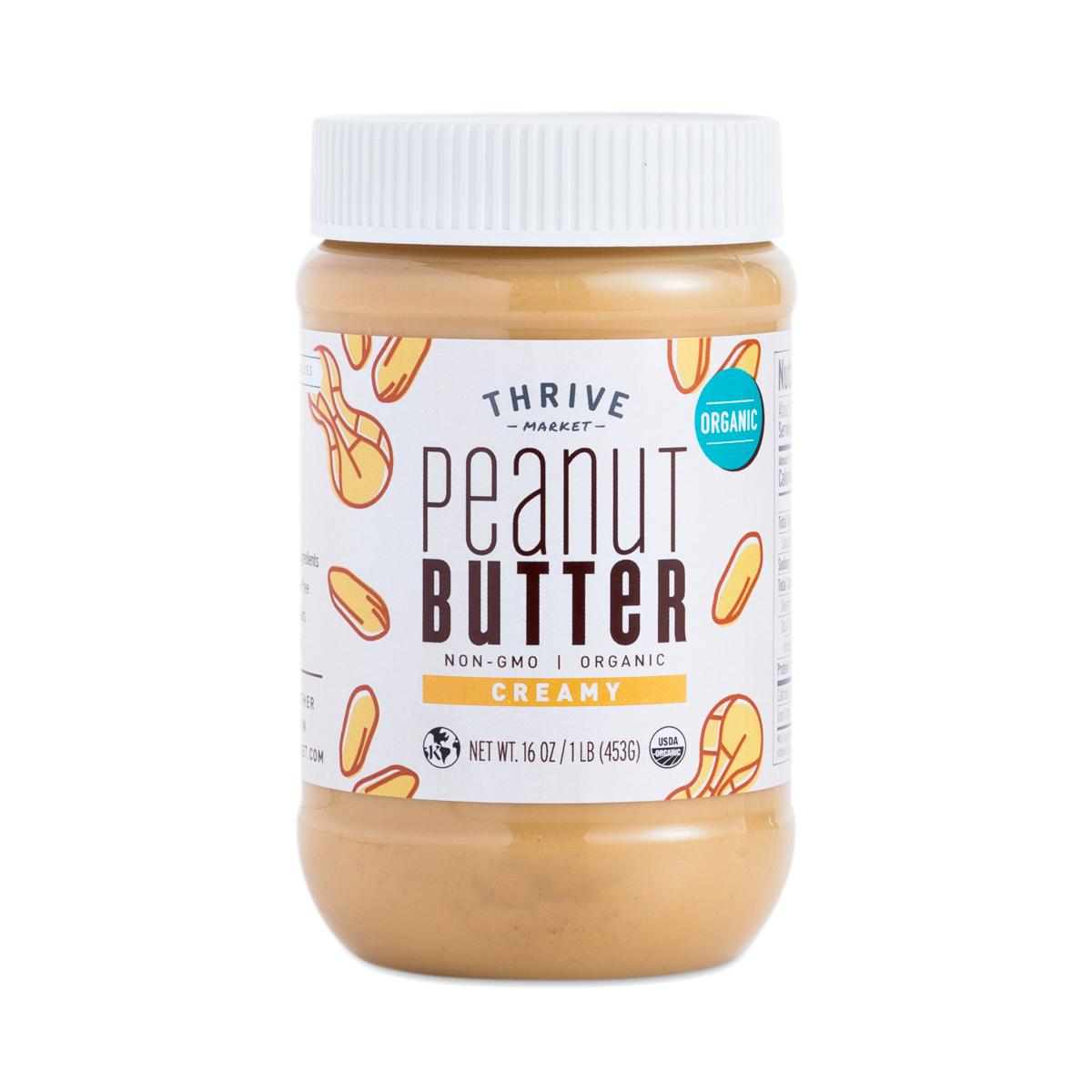 Organic Creamy Peanut Butter Thrive Market