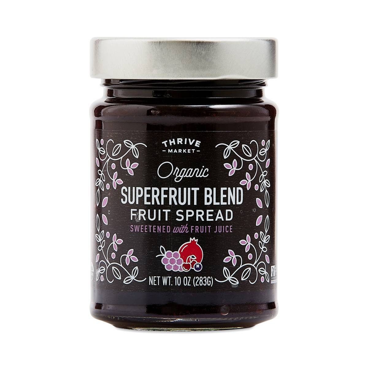 Thrive Market Goods Organic Superfruit Blend Fruit Spread
