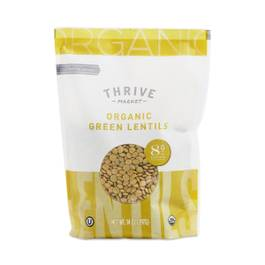 Organic Dried Green Lentils