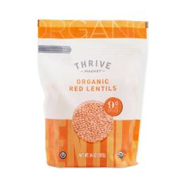 Organic Dried Red Split Lentils