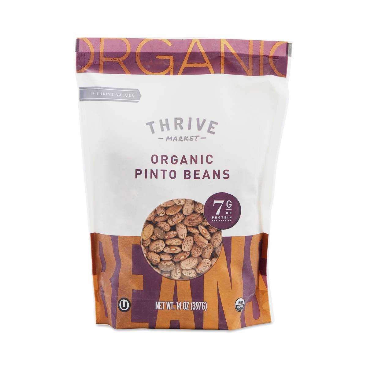 Organic Dried Pinto Beans - Thrive Market