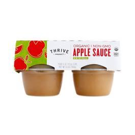 Organic Apple Sauce, Original Single Serve