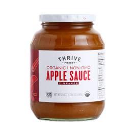 Organic Apple Sauce, Cinnamon