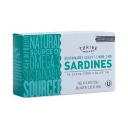 Non-GMO Sardines in Extra Virgin Olive Oil