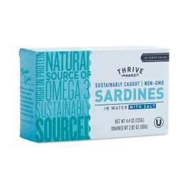Non-GMO Sardines in Water with Salt