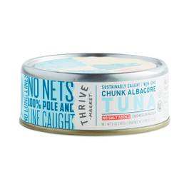 Non-GMO Chunk Albacore Tuna, No Salt Added