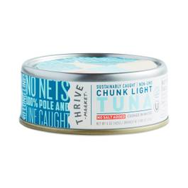 Non-GMO Chunk Light Tuna, No Salt Added