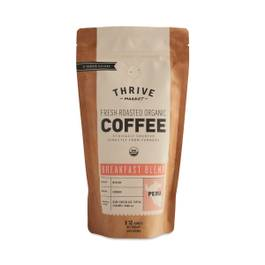 Organic Breakfast Blend Coffee, Ground