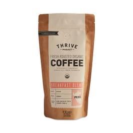Organic Breakfast Blend Coffee, Ground
