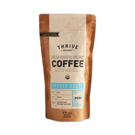 Organic French Roast Coffee, Ground