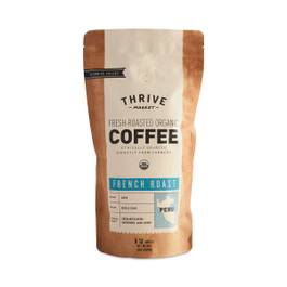 Organic French Roast Coffee, Whole Bean