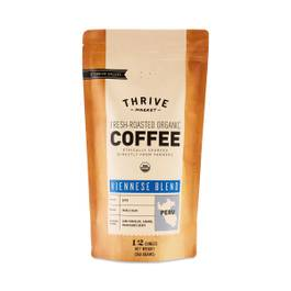 Organic Viennese Blend Coffee, Whole Bean