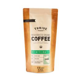 Organic Decaffeinated Coffee, Whole Bean