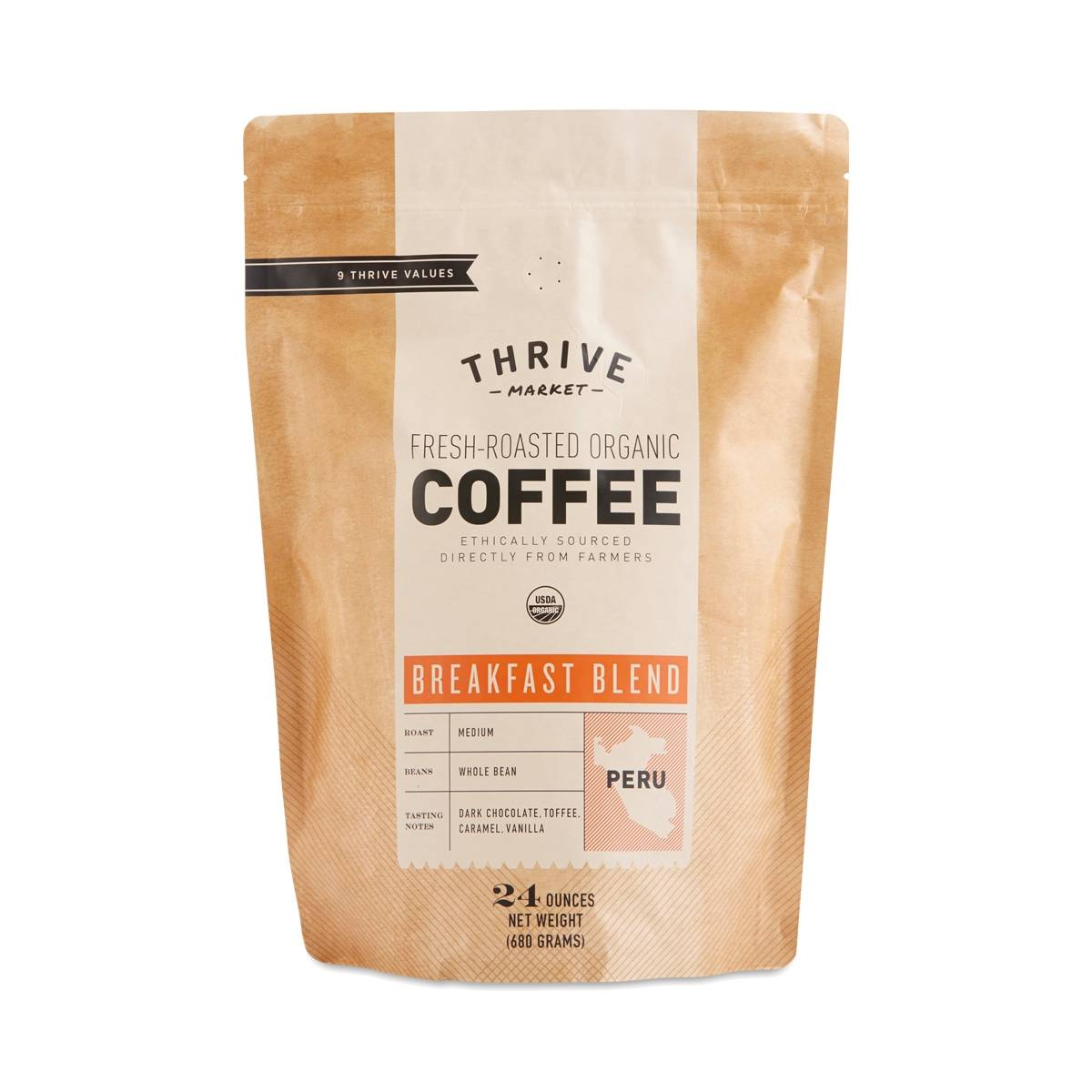 Thrive Market's Breakfast Blend