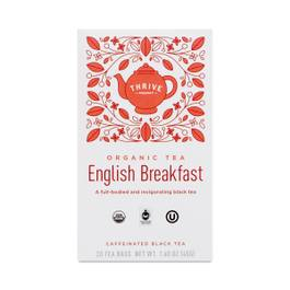Fair Trade Organic English Breakfast Tea