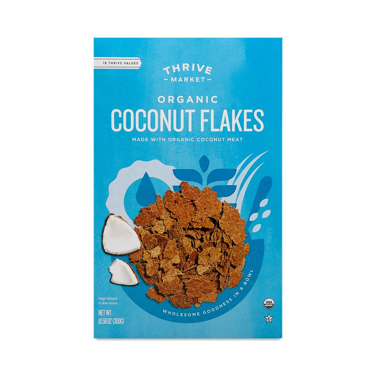Organic Coconut Flakes Cereal Thrive Market