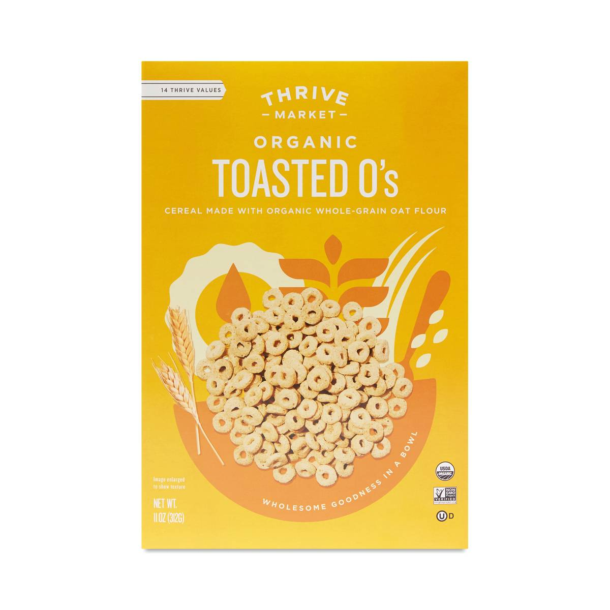 Toasted O's Organic Cereal