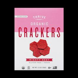 Organic Beet Crackers