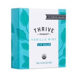 Organic Vanilla Mint Lip Balm, 4 pack