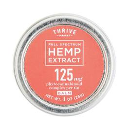 Full Spectrum Hemp Extract Balm, 125mg