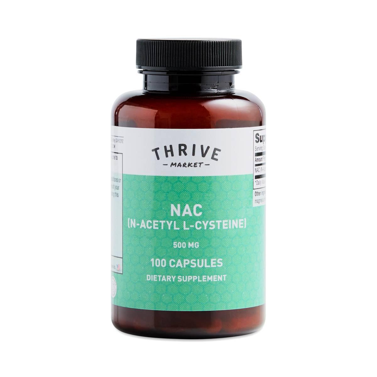 Thrive Market Products NAC: N-Acetyl L-Cysteine - Thrive Market