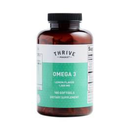 Omega 3, Lemon Flavor