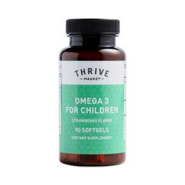 Omega 3 for Children - Strawberry Flavor