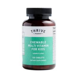 Chewable Multi-Vitamin for Kids - Cherry Flavor