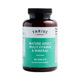Mature Adult Multi Vitamin Mineral (Iron-Free)