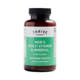 Men's Food Cultured Multi Vitamin Mineral