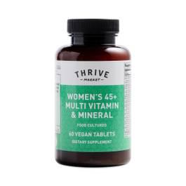 Women's 45+ Food Cultured Multi Vitamin Mineral