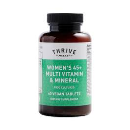 Women's 45+ Food Cultured Multi Vitamin Mineral