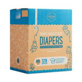 Diapers, Size NB (0-10 lbs)